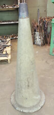 """38"""" Tall 2 1/4"""" - 10"""" Ductile Iron Floor Cone Mandrel for Blacksmith Farrier Use"""
