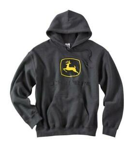 John Deere Gildan Hooded Sweatshirt