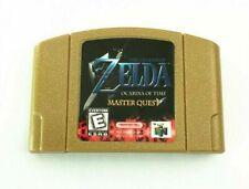 N64 The Legend of Zelda Ocarina of Time Master Quest GOLD US Version