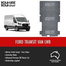 Ford Transit LWB - Genuine Flooring Marine Grade Grey Carpet Computer Cut