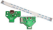 PS4 Dualshock Controller Ladebuchse USB Platine Board JDS-011 + Flexkabel 12 Pin