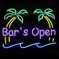 """17"""" Bar is Open Business Handcraft BEER BAR PUB TAVERN DECOR NEON LIGHT SIGN"""