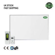 Infrared 450W Wall Mounted Panel Heater with Wireless Thermostat Home Heating