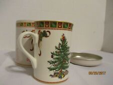 Spode Christmas Tree Mug with Sentiment Tin - New in Container #1