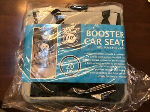 NEW AKC Travel Pet Booster Car Seat Up To 20lbs