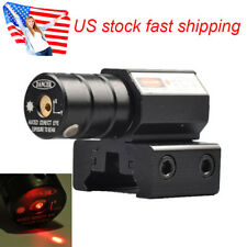 Us Red Dot Laser Beam Dot Sight Scope for Tactical Pistol Rifle Picatinny Mount