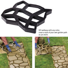Stepping Stone Driveway Pathmate Stone Mold Paving ConcreteMould Pavement  Paver