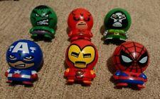 New listing spiderman, ironman, captain america, hulk, doctor doom, dare devil toys