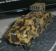 WAR MASTER WW2 GERMANY TANK PANZERWEFER SD.KFZ 4/1 MAULTIER FRANCE 1944 1:72 NEW