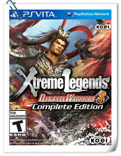 PSV DYNASTY WARRIORS 8 XTREME LEGENDS COMPLETE DW VITA Action Koei Tecmo