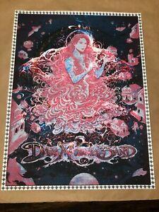 Dave Matthews Band 2018 Charlottesville N1 Miles Tsang UNIQUE TEST poster print