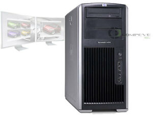 HP XW8200 Dual Xeon CPU's 3.4GHz/4GB RAM/NVS290/80GB SATA Workstation PC