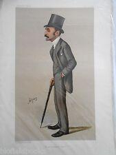 Original Vanity Fair Print of Francis Charles Philips, 1888 (Includes Magazine)