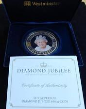 2012 GOLD PLATED PROOF 5OZ COOK ISLANDS $5 COIN BOX + COA DIAMOND JUBILEE