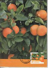 Australia 2012 MAXI Farming Australia II 4v Set Cards Wool Sugar Oranges Cattle