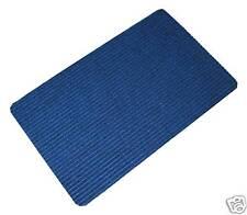 BNew Heavy Duty Door Mat Polypropylene Doormat  80cm x 50cm x 9mm Blue