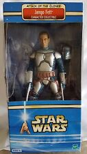 Star Wars Attack of the Clone Jango Fett Character Collectible Action Figure