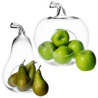 Fruit Shaped Glass Plant Flower Vase Holder Terrarium Container Home Decor Party