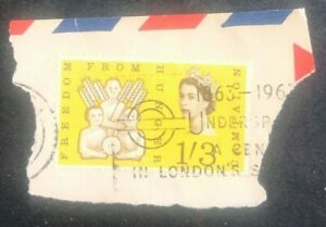 Great Britain 1963 Children with ears of wheat and globe, Queen Elizabeth II FDC