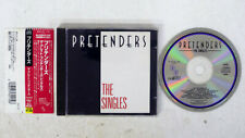 PRETENDERS Singles REAL JAPAN OBI 1CD