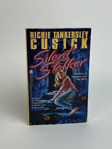 Vintage SILENT STALKER Richie Tankersley Cusick 1993 YA Thriller Paperback Book