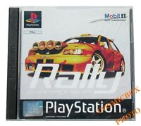 MOBIL RALLY CHAMPIONSHIP  jeu course auto PlayStation 1 Sony psx ps1 ps2 complet