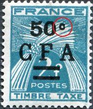 "RÉUNION C.F.A. TAXE N° 37 NEUF* Variété ""C FERMÉ"""