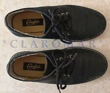 ☀� Vintage 1980s Candies Black Leather Oxfords Shoes Worn Once Women 8.5 Mint