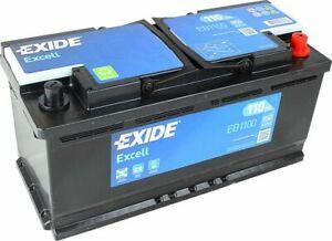 Exide EB1100 12V 020 Car Battery 110Ah - Audi BMW Land Rover Range Rover Porsche
