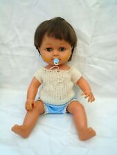 Vintage Timmy Tears Tiny Brother Doll Anatomically Correct 16 inch & Dummy