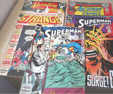 Lot Of 5 Superman DC Comics Action Adventure 1972 1984 1994 Free Shipping