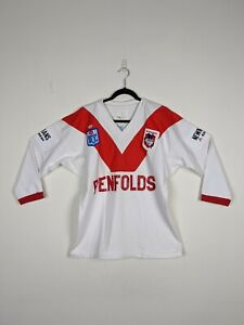 Vintage Early 90s St George Jersey ARL Penfolds Classic Australia Mens 44