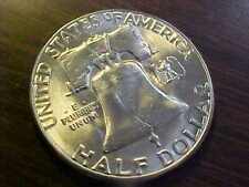 1954 S Franklin Silver Half Dollar MS BEAUTIFUL UNCIRCULATED  LUSTROUS COIN