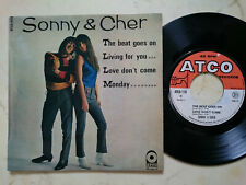 Sonny & Cher The Beat Goes On +3 Rare French 4Track 60s Atco EP