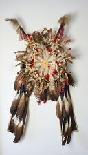 Scarce Antique Native American Sioux Crow Bustle - Ex Sotheby's