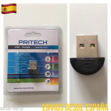 Bluetooth USB 2.0 Adaptador WIFI  EDR DONGLE para Pc Windows 3 Veces Mas Rápido