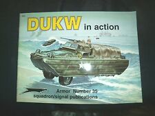 DUKW in Action By Jim Mesko  Armor 35 Squadron Signal Publications LVT