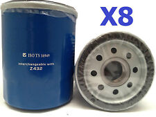 8X Oil Filters Suits Ryco Z432 TOYOTA Avensis Camry Celica Hilux Rav4 Tarago