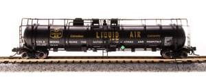 BROADWAY LIMITED 3723 N SCALE (2-pack) Cryogenic Tank Cars Canadian Liquid Air
