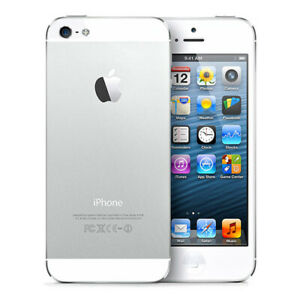 Apple iPhone 5 16GB /32GB /64GB Factory Unlocked Smartphone Black & White