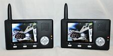 Video Door Phone Intercom Entry System IR Camera Metal Shell 3.5 LCD Monitor 1V2