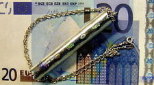 New Sterling Silver emergency 20 Euro note pendant & chain