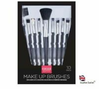 10Pcs MAKE UP BRUSHES SET Powder Contour Artists Eyeshadow Applicators GMPER2094