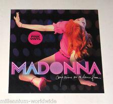 "MADONNA - CONFESSIONS ON A DANCE FLOOR - DOUBLE 12"" PINK VINYL LP - SEALED, MINT"