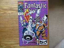 1990 VINTAGE FANTASTIC FOUR # 343 SIGNED BY WALT SIMONSON, STORY & ART WITH POA