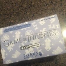 """GAME OF THRONES EXCLUSIVE 4.5"""" WIRGHT VISERION GLOW IN THE DARK TRANSLUCENT (NEW"""