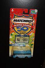 MATCHBOX ACROSS AMERICA 50TH BIRTHDAY #3 NEW JERSEY IKARUS COACH NJ