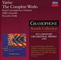 Royal Concertgebouw Orchestra - Varese: The Complete Works [CD]