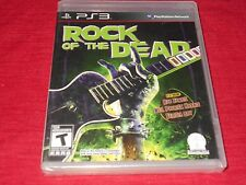 ROCK OF THE DEAD PS3 FACTORY SEALED  C@@L!!!  MUST L@@K!!! FAST FREE SHIPPING!!!