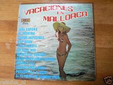 LP RECORD VINYL PIN-UP GIRL VACACIONS EN MALLORCA VIVA ESPANA